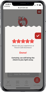 93% of guests rate Jaac with 5 stars