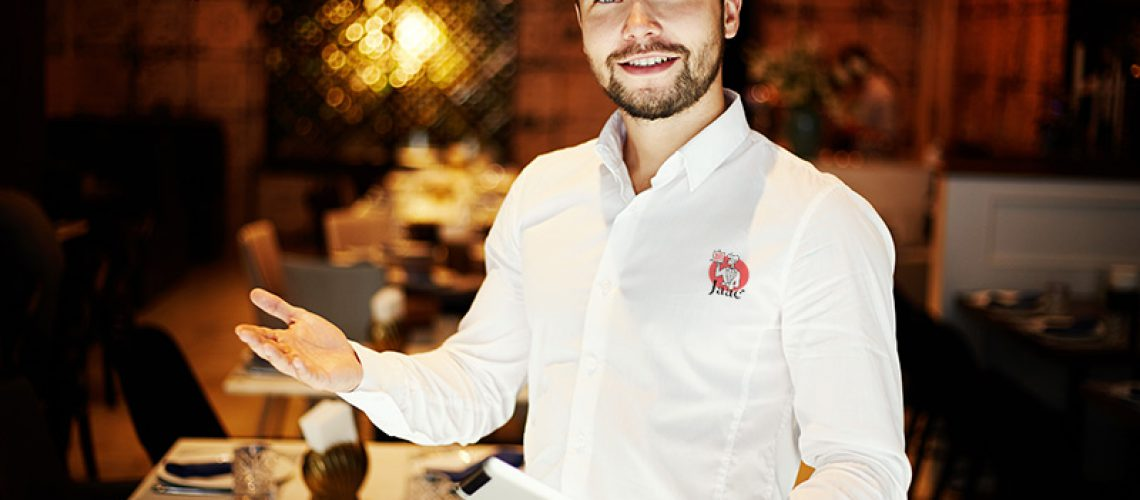 waiter shirt with logo-800x533